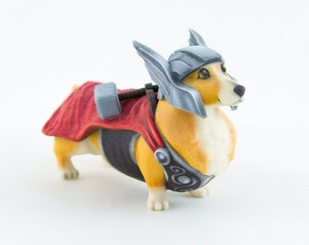 Thorgi The Corgi God Of Thunder