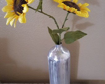 Recycled Fire Extiquisher Flower Vase