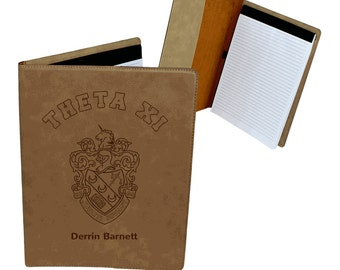 Theta Xi Leatherette Portfolio