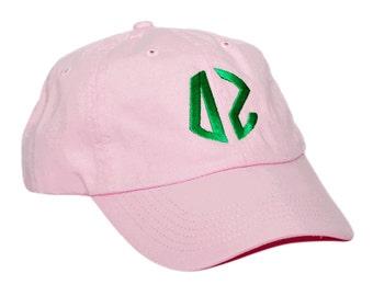 Delta Zeta Circle Monogram Hat