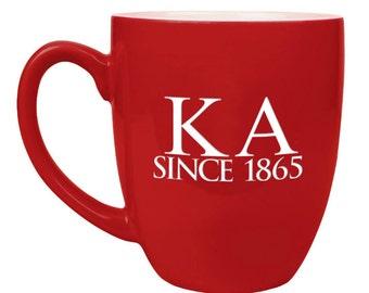 Kappa Alpha Bistro Mug