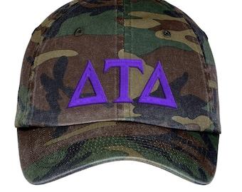 Delta Tau Delta Lettered Camouflage Hat