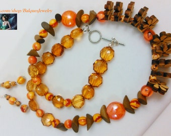 Whimsy Necklace and Earrings  N&E#0011