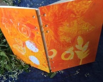 Sunny - unique handbound journal