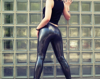 Unisex Basic Latex Leggings