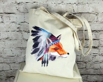 Chief Fox Tote Bag