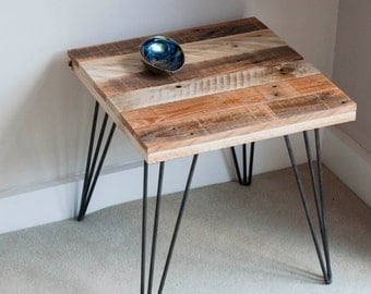 Square Coffee Table - Wooden Side Table