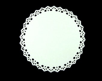 Large Doily Cut Outs for Banners and More Set of 6