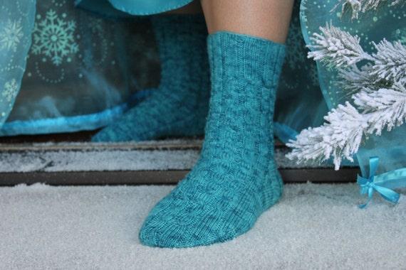 Knitting Patterns For Elsa : Knitting Pattern, Elsas Socks, Knit, Knitted, Cabled, Socks, Elsa, Froze...