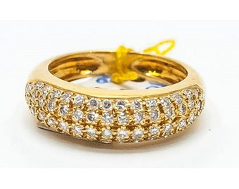 Ring Mineralife ring in yellow gold and diamonds