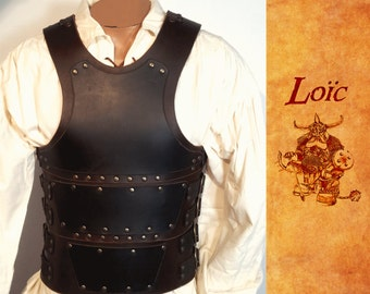 Leather double, medieval armor, larp