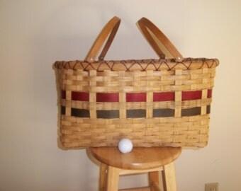 Large Market Basket with Swing Handles