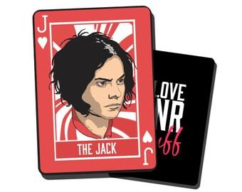 Jack White Playing Card