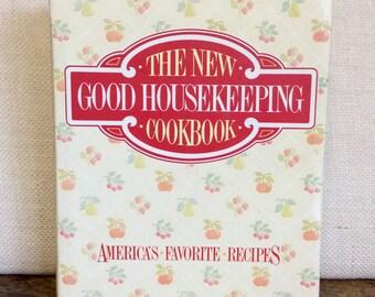 Vintage 1986 The New Good Housekeeping Cookbook