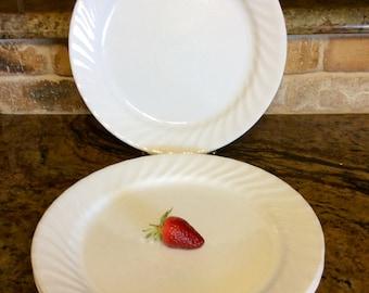 Corelle White Vive Enhancements Dinner Plates, Set of 5