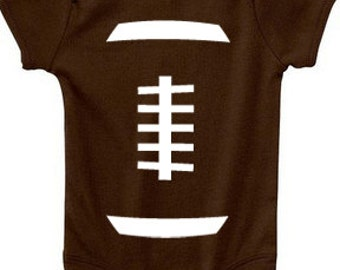 Football Baby- Football Onesie,