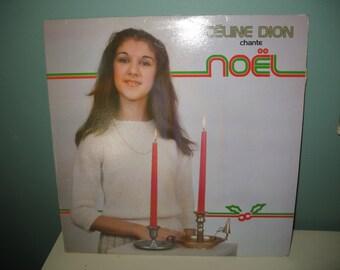Céline Dion vinyl record Céline Dion chante noel 1981 (free shipping)