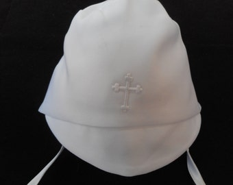 Boys Christening Baptism Hat