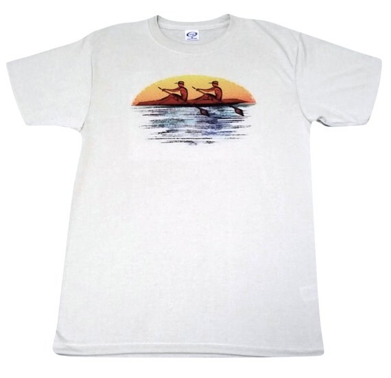Items similar to rowing shirt boat t shirt water sport for Custom boat t shirts