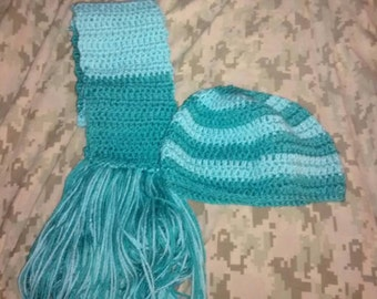 Scarf and Beanie