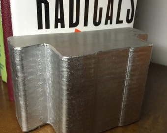 Cast Aluminum Bookends - Industrial Design