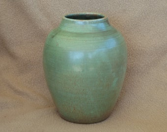 Shearwater Pottery; Vintage Clay Vase; Stoneware