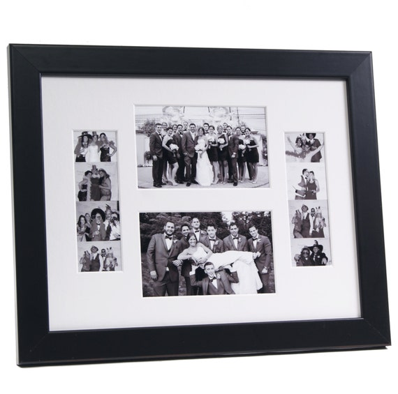 Wedding Event Photo Booth Frame Holds 2 4x6 Photo And 2