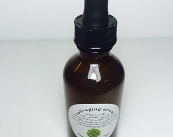 organic anti-aging serum, vitamin C, smooth skin, erase fine lines wrinkles, acne age and sun spots