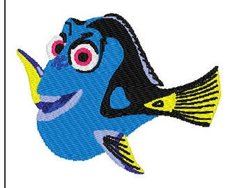 Dory Embroidery Design