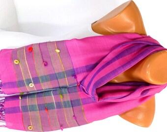 Scarf, Shawl, Wrap, Viscose Scarf, Women Cowl, Women Fashion Accessories, Summer Scarves, Gift for mom, Lightweight Scarf