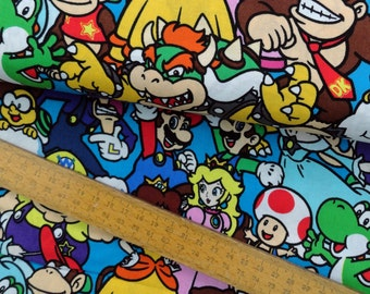Video Game Fabric Etsy