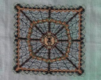 Beaded Spider Web