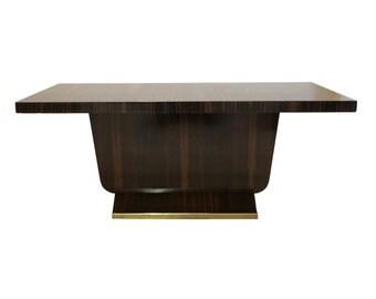 French Art Deco Macassar Coffee Table