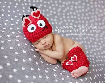 valentines love bug hat leg warmers baby girl outfit baby valentines day outfit