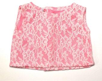 Pink Cream Full Lace top