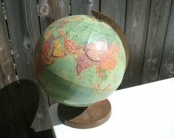 Vintage Repologle World Globe