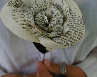 Romeo and Juliet Paper Flower