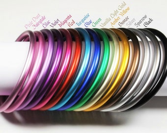 "3"" Aluminum Rings for baby carriers-15 pairs-one of each color. AL-Ring-All"