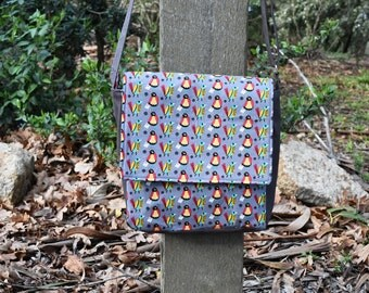 Square Birds Of A Feather Messenger Bag