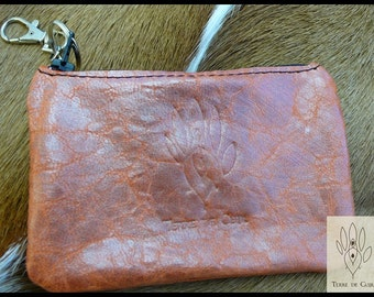 Small pouch / purse leather