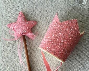 Glinda Costume Set, 100% Merino Wool Felt