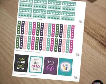 Printable Stickers: A Fresh Start