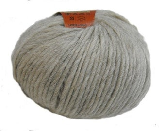 Organic yarn - 02 - Naturale  - 50g - Aran - Knitting Yarn