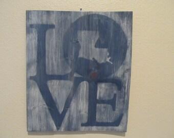 Louisiana Love Sign