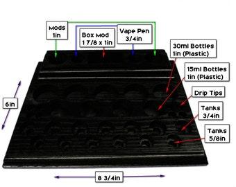 Box Mod 2 Vapor Stand Holds I taste MVP E Leaf 50w Most Mechanical Mods E Juice And Tanks  (FREE SHIPPING)