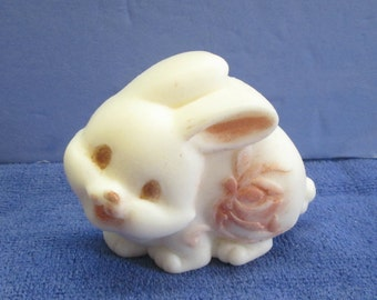 """Adorable Bunny soap for Easter or """"just because"""",  Gentle Baby Buttermilk soap, children's soap, fancy soap, Spring soap, party favor"""