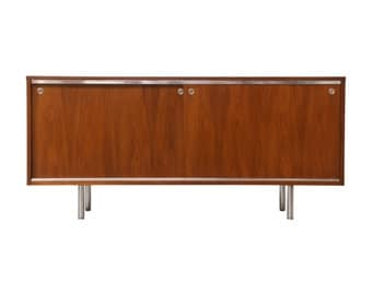 George Nelson Walnut Credenza for Herman Miller