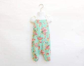 Floral Romper//Baby romper//toddler romper//spring//summer