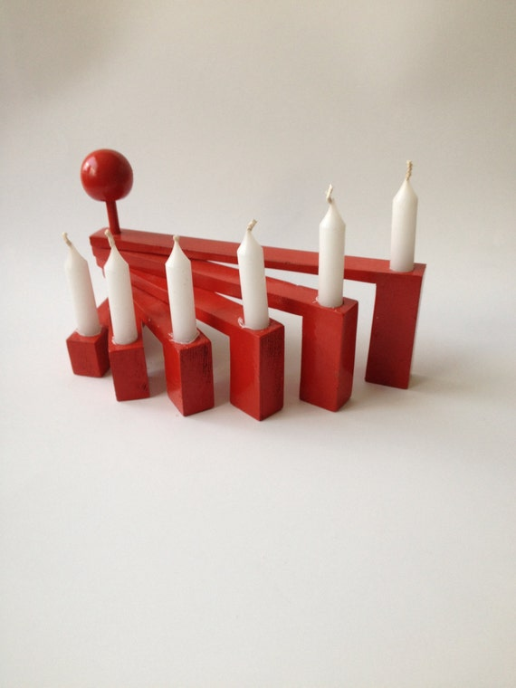 Step Down Candle Holder