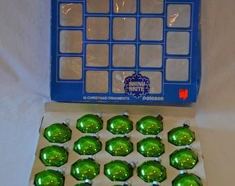 Shiny Brite Set of 18 Ornaments With Their Original Box